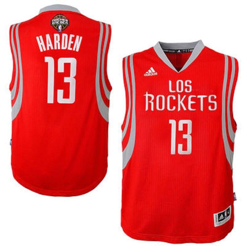 new arrival b4c1b c3ff5 Amazon.com: Houston Rockets James Harden adidas Red Noches ...