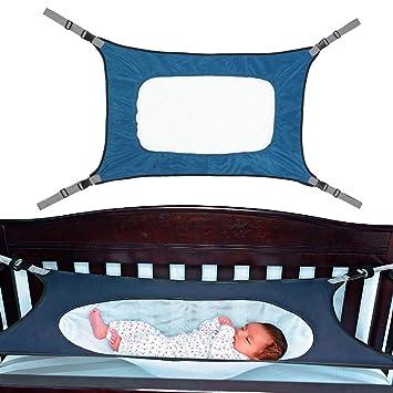 Safety Infant Baby Hammock Sleeping Swings For Newborn Nursery Beds Cribs Safe Detachable Elastic Hammock With Adjustable Net Mother & Kids Bouncers,jumpers & Swings
