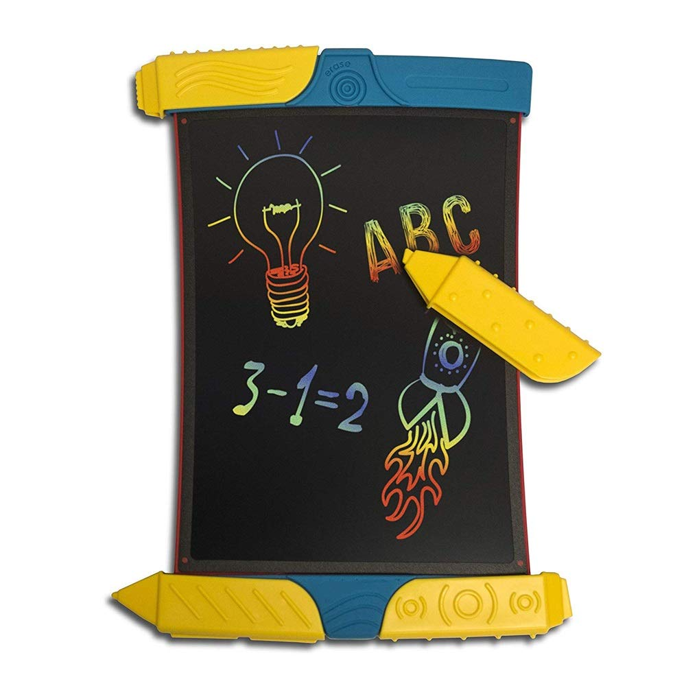 Hzna LCD Writing Board Smart Paper is Used to Draw Rainbow Handwriting Board Color Transparent Graffiti LCD Handwriting Board