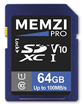 MEMZI Pro - Tarjeta de Memoria SDXC para cámaras Digitales ...