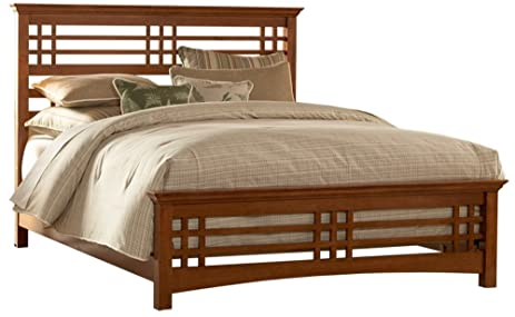 avery mission style bed full - Mission Style Bed Frame