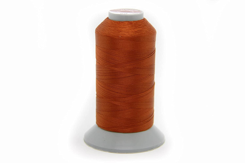 Costuras NTS 1500/m Hilo para Piel Piel Hilo 60 Amarillo Filamento de selecci/ón de Colores
