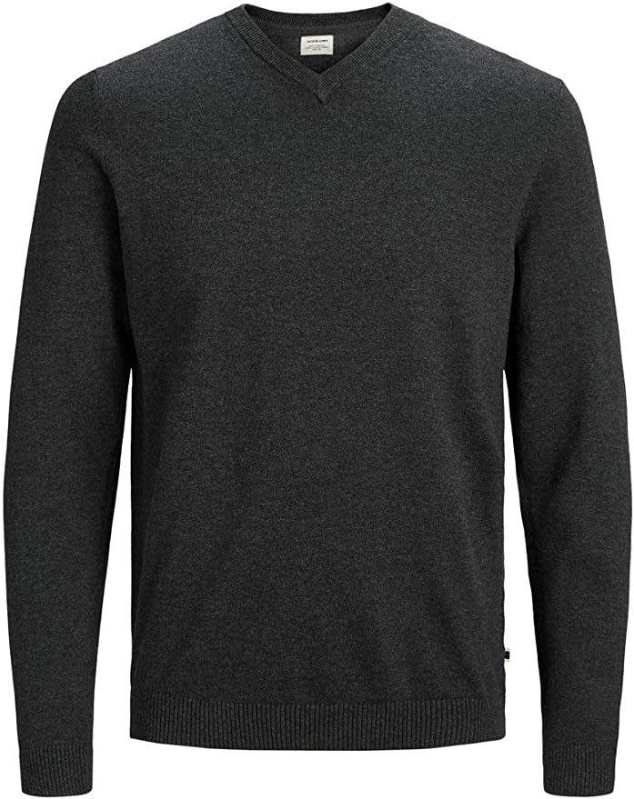 TALLA L. Jack & Jones Jjebasic Knit V-Neck Noos suéter para Hombre