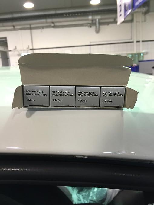 Amazon.com: Volkswagen 06K905601B GENUINE OEM SPARK PLUG Set- 4pcs BEETLE GOLF JETTA NOVO PASSAT POLO SCIROCCO: Automotive
