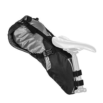 9b6c3c0e3d53 Amazon.com   Blackburn Outpost Seat Pack with Dry Bag - Black ...