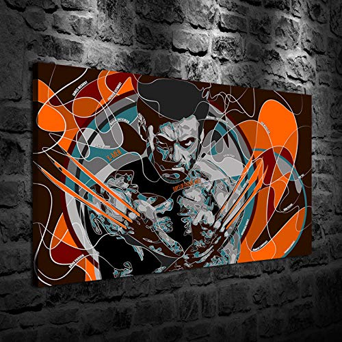 Original Hot Selling Art Home Decor Art Painting HD Print Oil Painting on Canvas, X-MEN Days Future Past (12x18inch-Framed/Ready to hang) (X Men Days Of Future Past China)