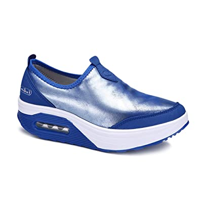 Daytwork Zapatillas de Deporte Zapatos Correr Mujeres ...