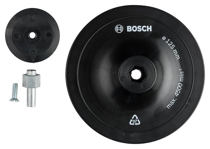 4 opinioni per Bosch 1609200240- Platorello abrasivo, 125 x 8 mm, per fogli abrasivi ø 125 mm,