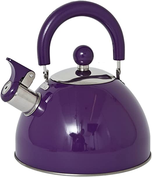 Stainless Steel Stove Top 2.5Lt Traditional Whistling Water Kettle