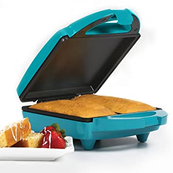 Holstein Housewares HF 09011E Fun Pound Cake Maker   Teal