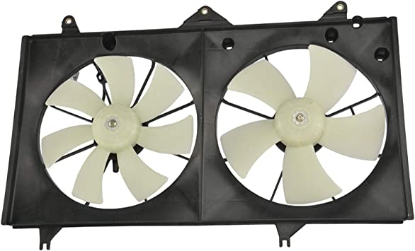 Left or Right Engine Cooling Fan Motor TYC For Toyota Camry Solara 2.4L L4
