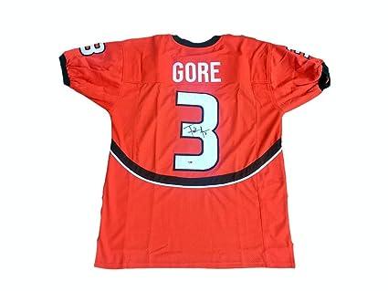 wholesale dealer 2b339 85f1c Frank Gore Miami Hurricanes Autographed Signed Jersey ...