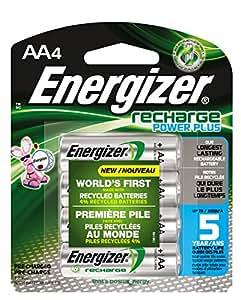 Amazon.com: Energizer Recharge Power Plus AA 2300 mAh