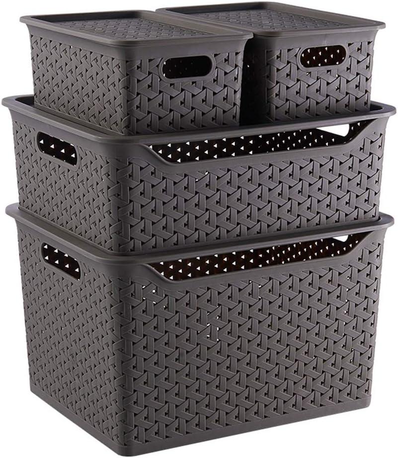 ZHANGQIANG cesto para la Colada Laundry Basket Caja Transparente ...