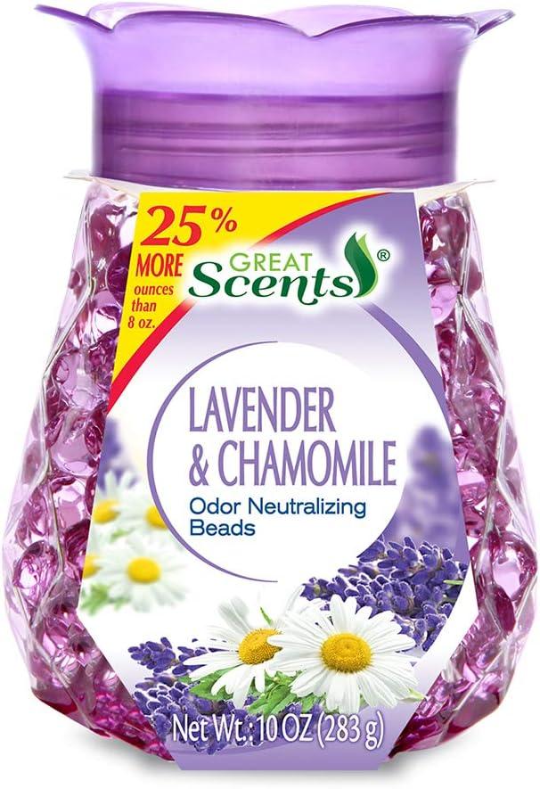Home Select 11265-12 Odor Neutralizing Beads, Refreshing Lavender & Chamomile, 10-oz. - Quantity 1
