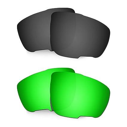 HKUCO Lentes de Repuesto para Rudy Sintryx Negro/Verde Gafas ...