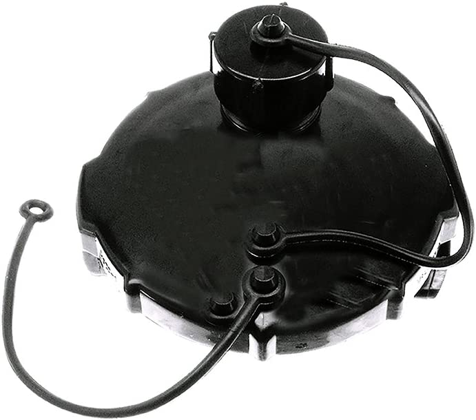 Danco 65167 3 in. Mobile Home/RV Termination Cap with 3/4MHT Threaded Hose Connection, Black