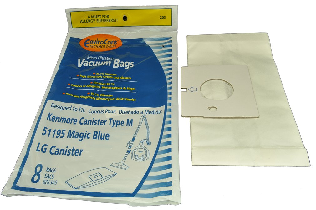 Kenmore Type M Canister Vacuum Cleaner Bags