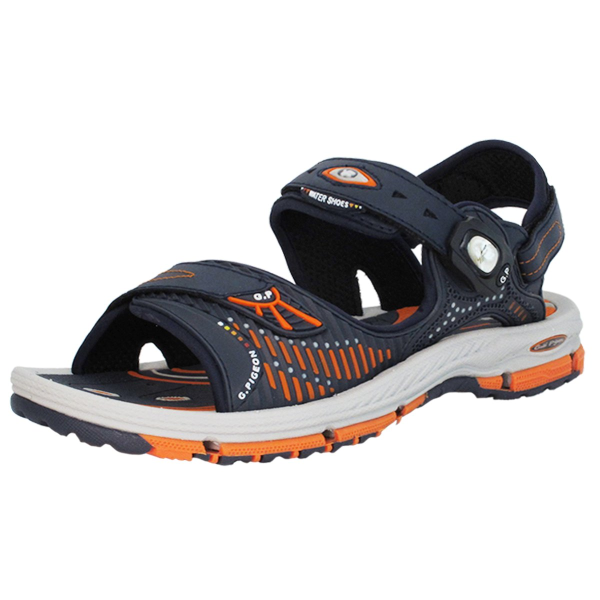 GP9177 Men Women Kids Breathable Outdoor/Water Snap Lock Sandals