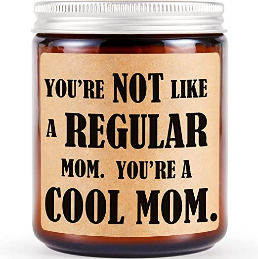 Best Gifts for Mom from Daughter Son, Mom Gifts for Mothers Day - Happy Mothers Day, Christmas Birthday Gifts for Mom, Funny Gifts for Mom, Mom Valentine Gift, Lavender Scented Candles, Soy Candles
