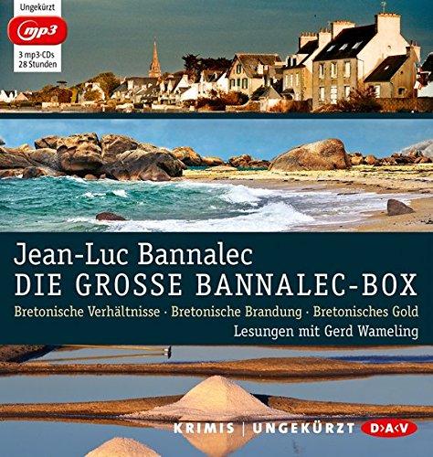 Die große Bannalec-Box: Ungekürzte Lesungen mit Gerd Wameling (3 mp3-CDs)