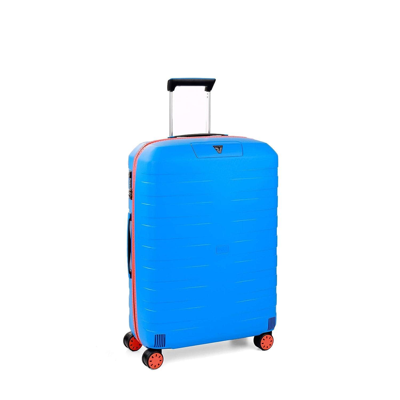 Blu Azul Roncato Trolley Medio 4r Box Young Valigia 80 liters 69 cm