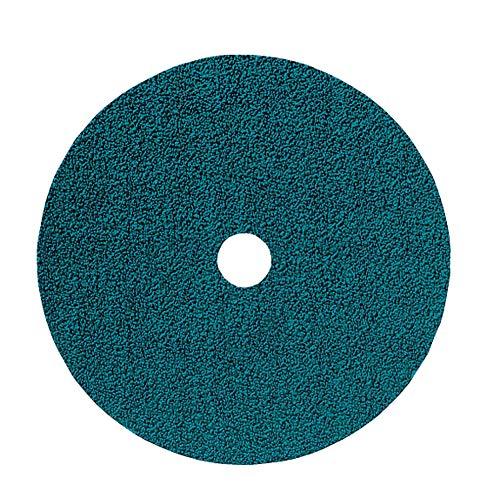 24 Grit Pack of 25 Zirconia Alumina Z PFERD 62712 Fibre Disc 7 Diameter 8500 RPM 7//8 Arbor Hole