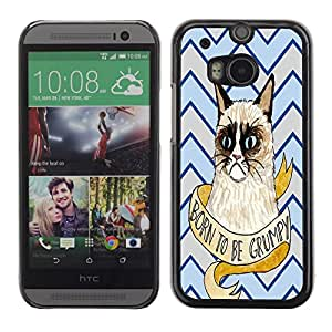 Dragon Case - FOR HTC One M8 - Everybody wants happiness - Caja protectora de pl??stico duro de la cubierta Dise?¡Ào Slim Fit