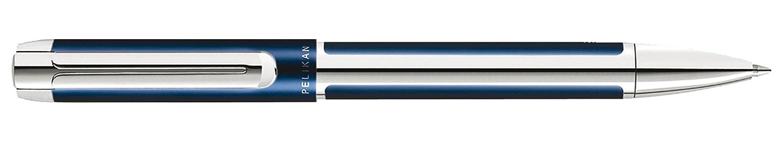 Pelikan Pura blue K40 954925 - Bolígrafo, color azul y plateado