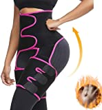VVA Waist Trainer Women - 3-in-1 Waist and Thigh Trimmer for Women Weight Loss Butt Lifter Shaper for Workout Training…