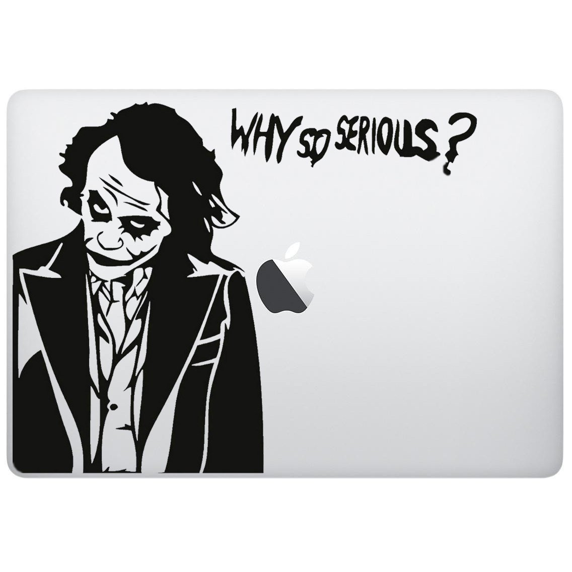 Sticker decal with joker supervillain design computer sticker laptop sticker macbook sticker ipad sticker computer decal laptop decal ipad decal