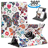 LRCXL Case for New iPad Pro 11 Inch 2018 - [Support Apple Pencil Charging] 360 Degree Rotating Multi-Angle Cover with Auto Sleep Wake Function Swivel Case for Apple iPad Pro 11