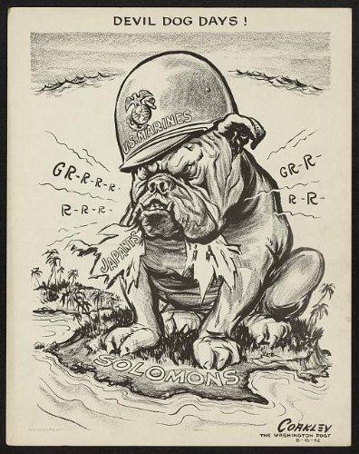 Photo bulldog Marines Japants LCoakley product image