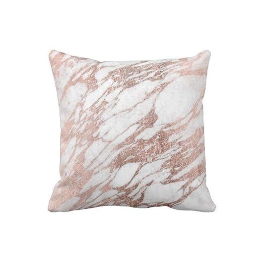 perfecone - Funda de Almohada con diseño de mármol en Color ...