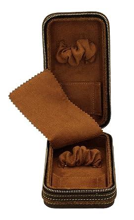 0bfe06260f8 Friedrich Trousse Portaorologi de voyage en cuir véritable pour montres  coffret Antique 2 Trousse Box Boîte