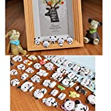 C-Pioneer 3D Cute Panda Diary Stamp Sticker DIY