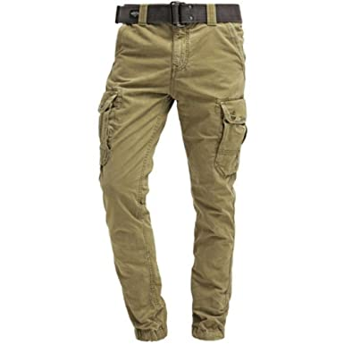 9e04042fd586 Pantalon Cargo Schott Beige  Amazon.fr  Vêtements et accessoires