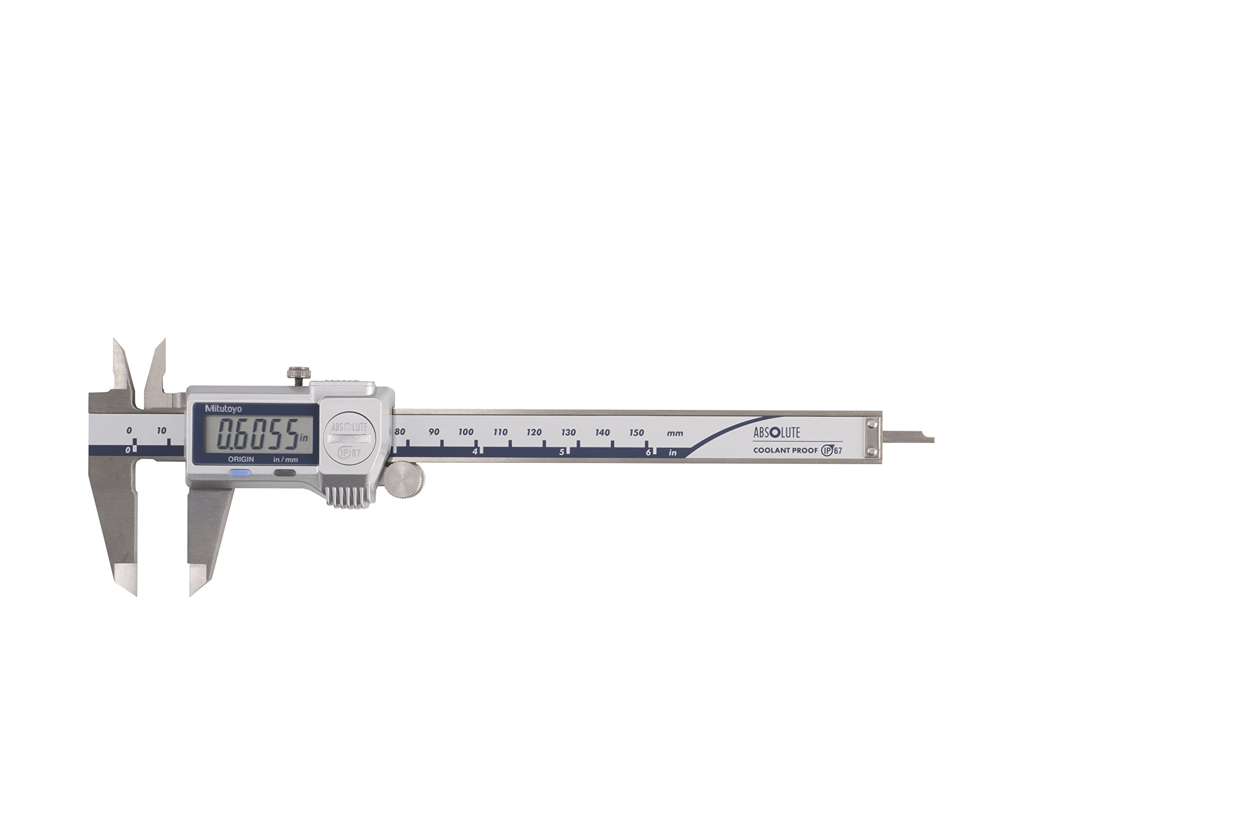 Mitutoyo 500-762-20 500-762-20,0Caliper, Digimatic, 0-6'', IP67, 0005'' 0/01 mm with SPC