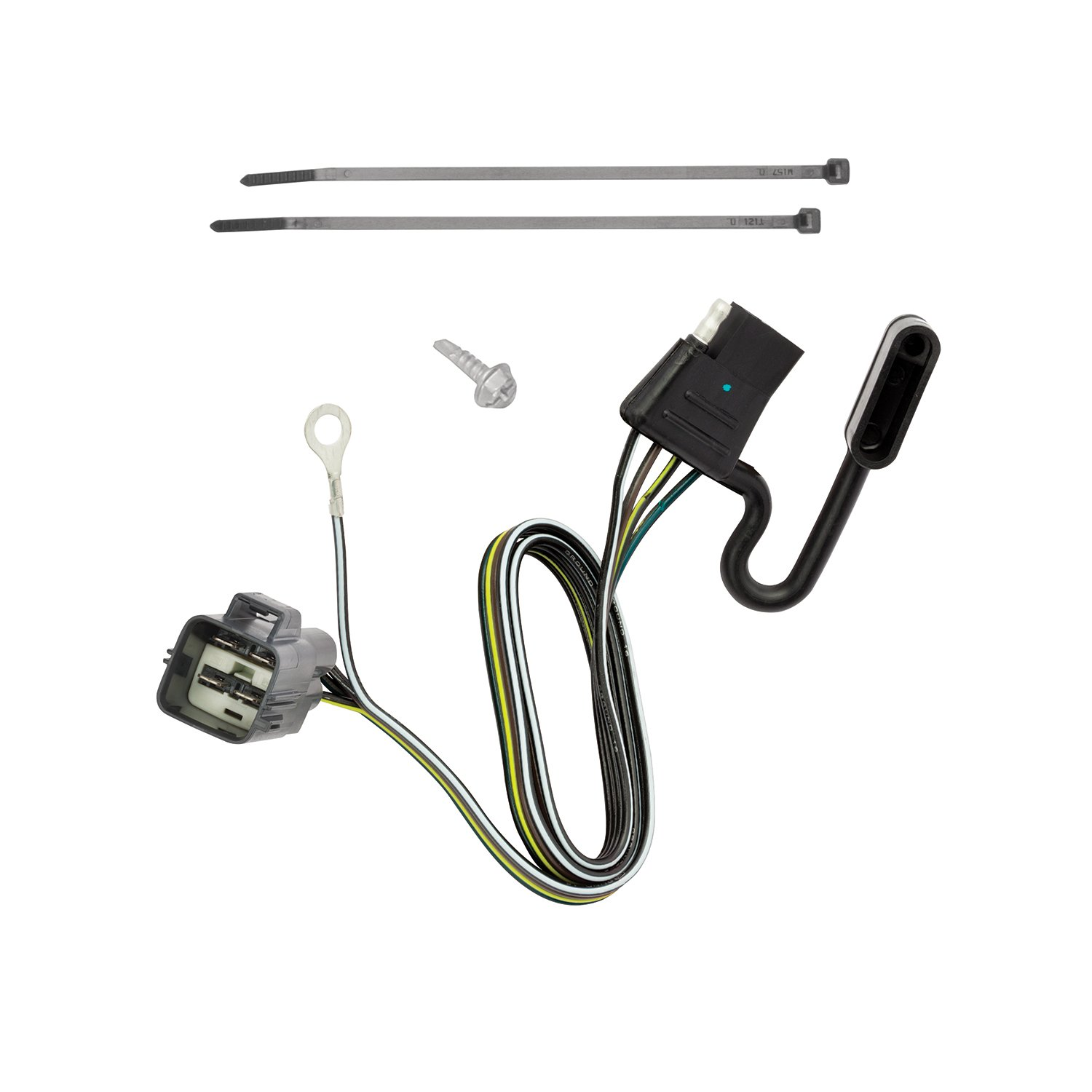 Amazon.com: Tekonsha 118720 4-Flat Tow Harness Wiring Package, 1 Pack:  Automotive