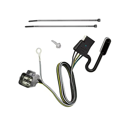 Amazon.com: Tekonsha 118720 4-Flat Tow Harness Wiring Package ... on 4 wire trailer lights, 4 wire trailer cable, 4 wire ignition switch, utility trailer harness, 4 wire trailer connector, 4 wire wiring diagram light,