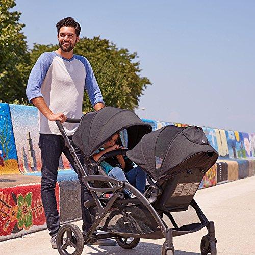 Contours Options Elite Tandem Double Stroller, Carbon by Contours (Image #10)