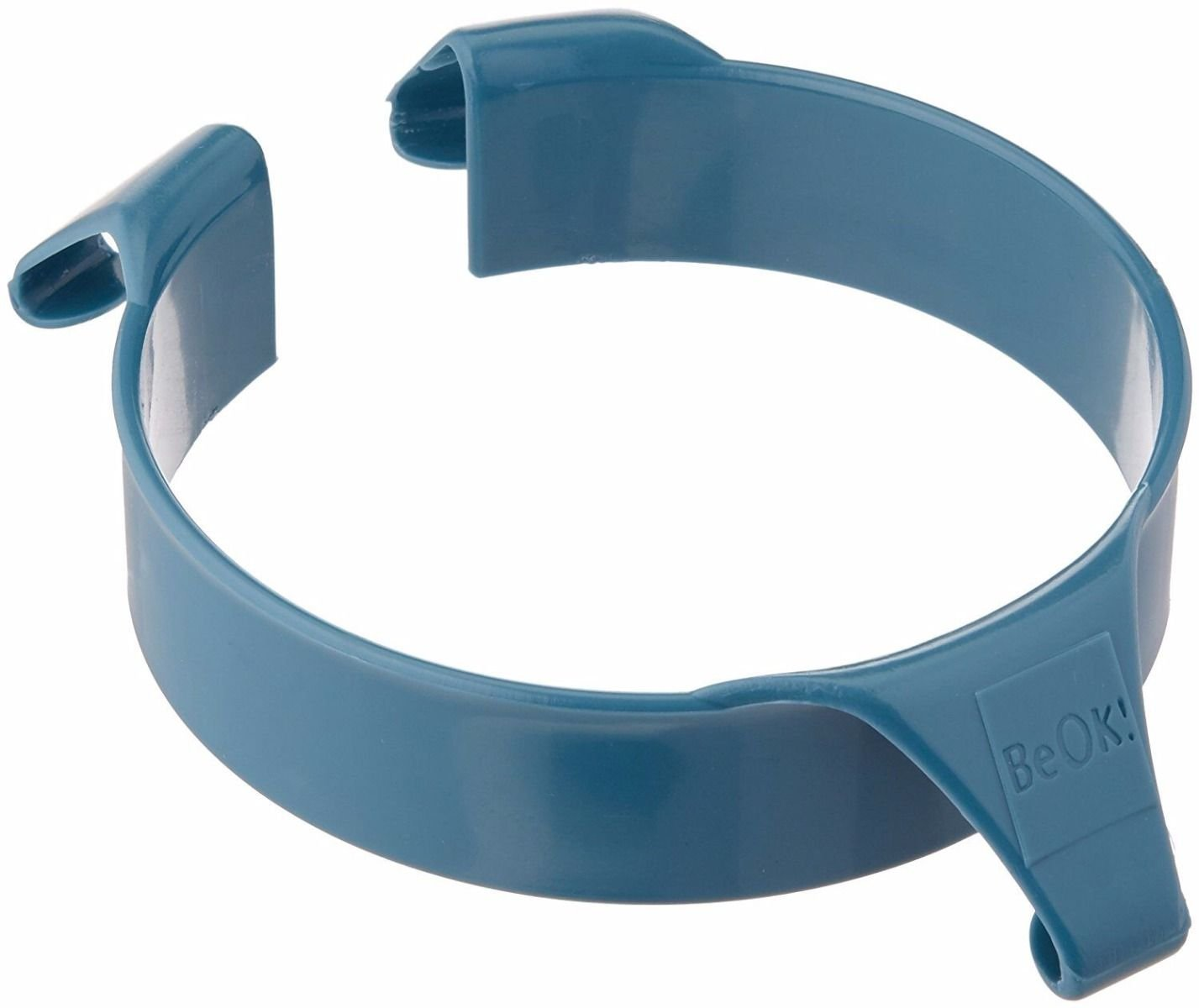 Patterson Medical Plastic Food Guard - Blue by P. (Image #1)