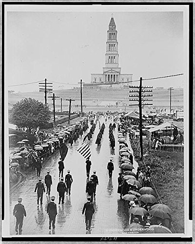 Photo: Masons marching,George Washington Masonic National Memorial Temple,1932