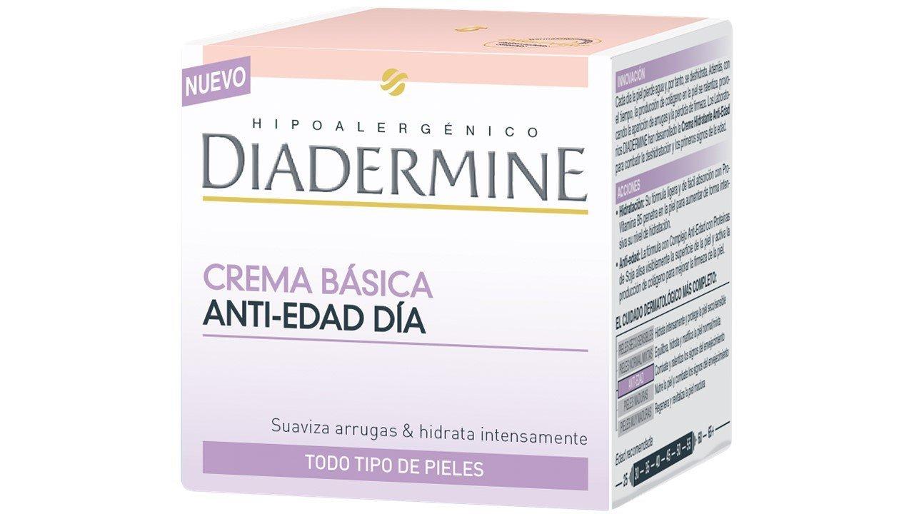 Díadermine Crema Hidratante Básica Anti Edad - 50 ml: Amazon.es: Amazon Pantry