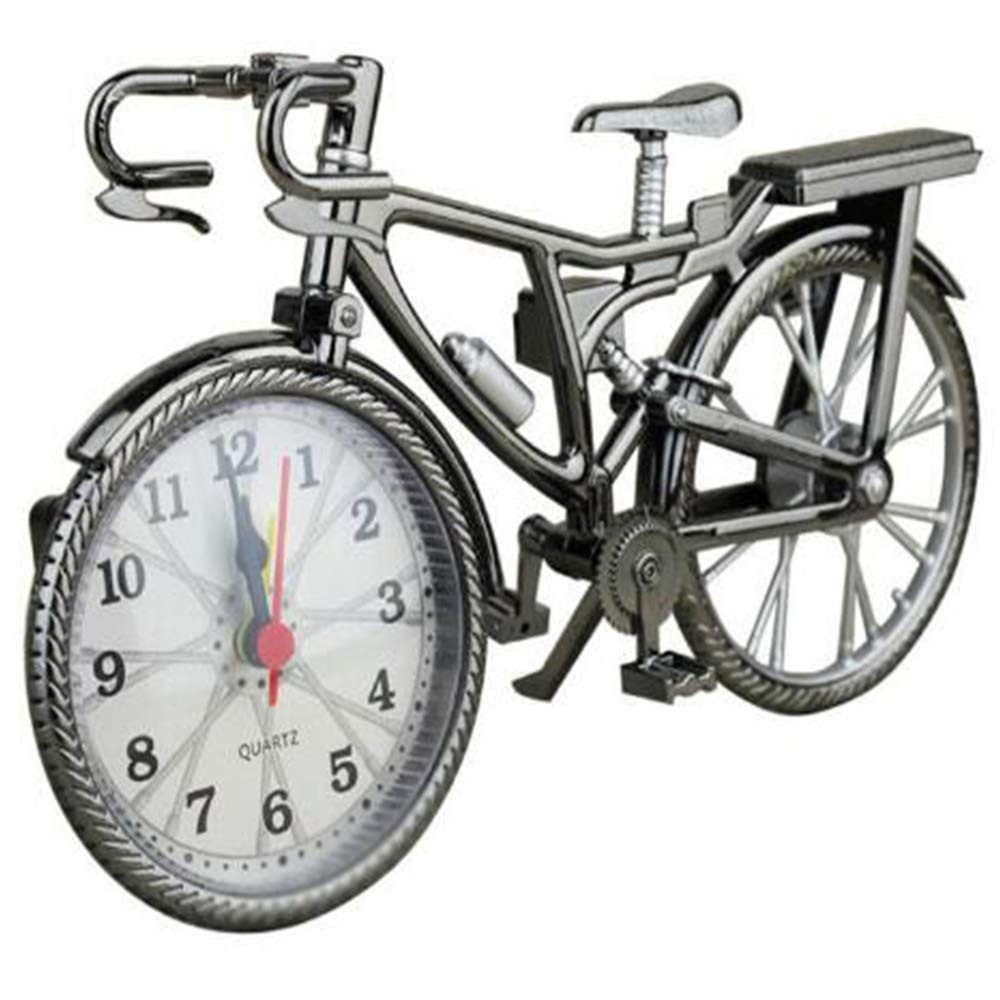 SKYyao Adornos Reloj Bicicleta DiversióN Forma Bicicleta Vintage ...