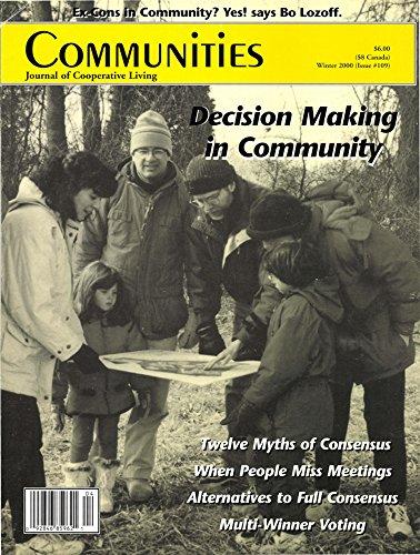 Communities Magazine #109 (Winter 2000) – Decision Making in Community