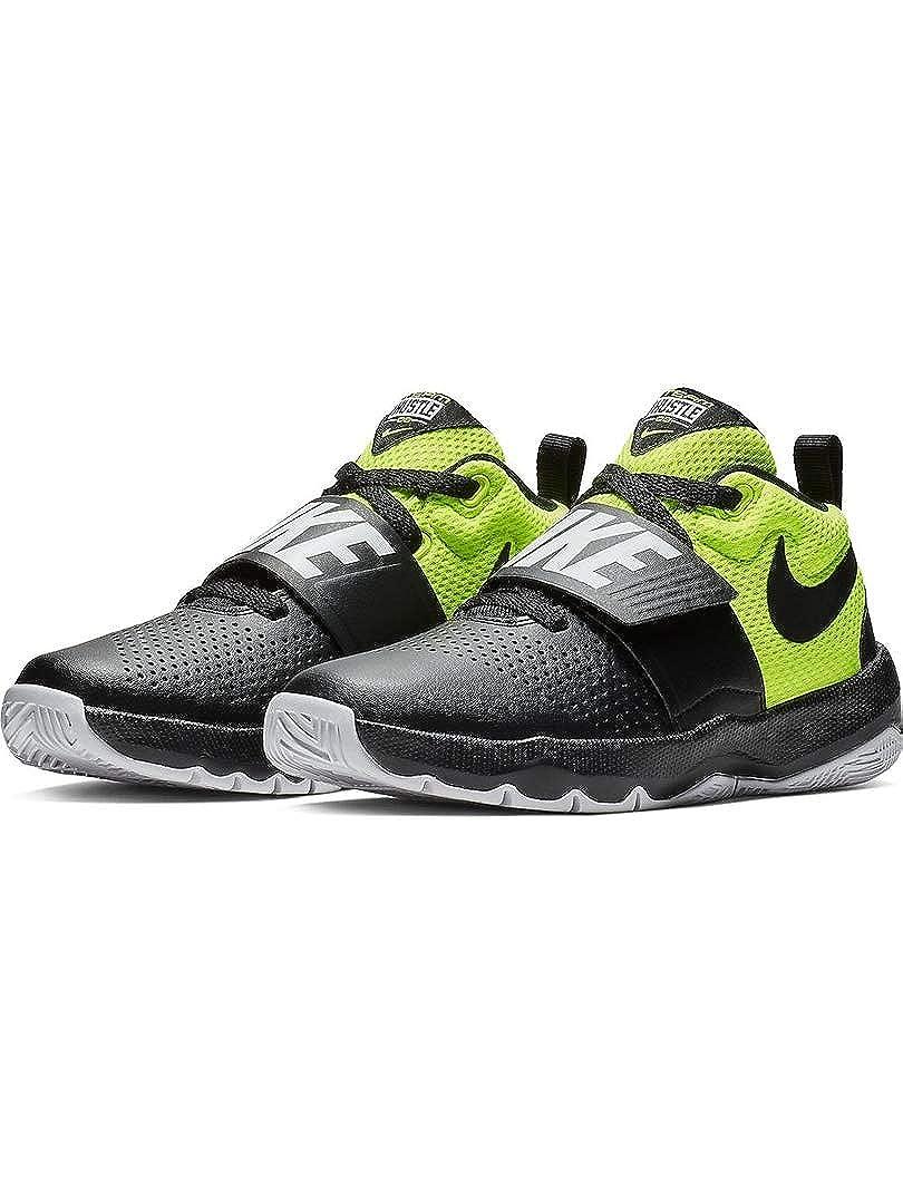 NIKE Team Hustle D 8 (GS), Chaussures de (Black/Volt/White Basketball Homme 40 EU Multicolore (Black/Volt/White de 014) f04afd