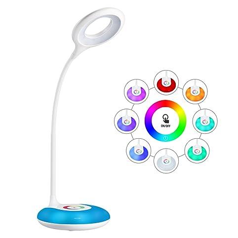 Schreibtischlampe clipart  LED Schreibtischlampe HIHIGOU Dimmbare Augenschutz Leselampe 3.2W ...