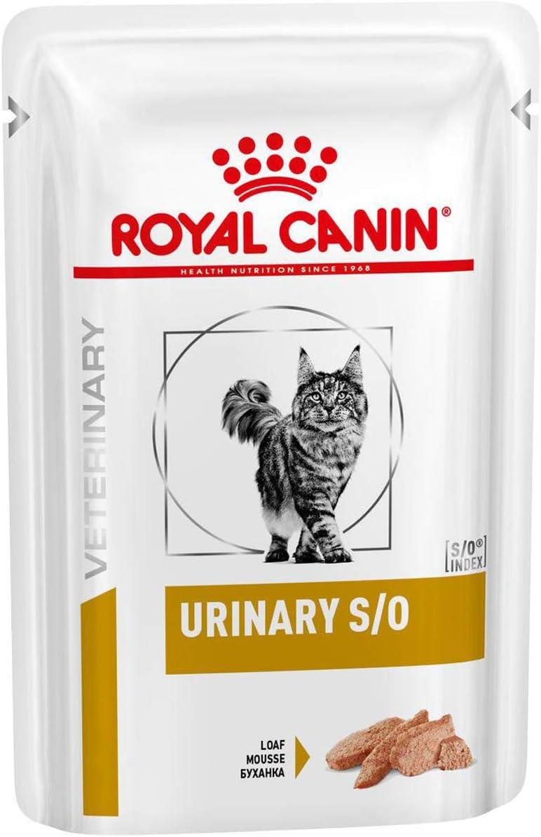 Royal Vet Feline Urinary S/O Pate Comida para Gatos, 12X85 gr