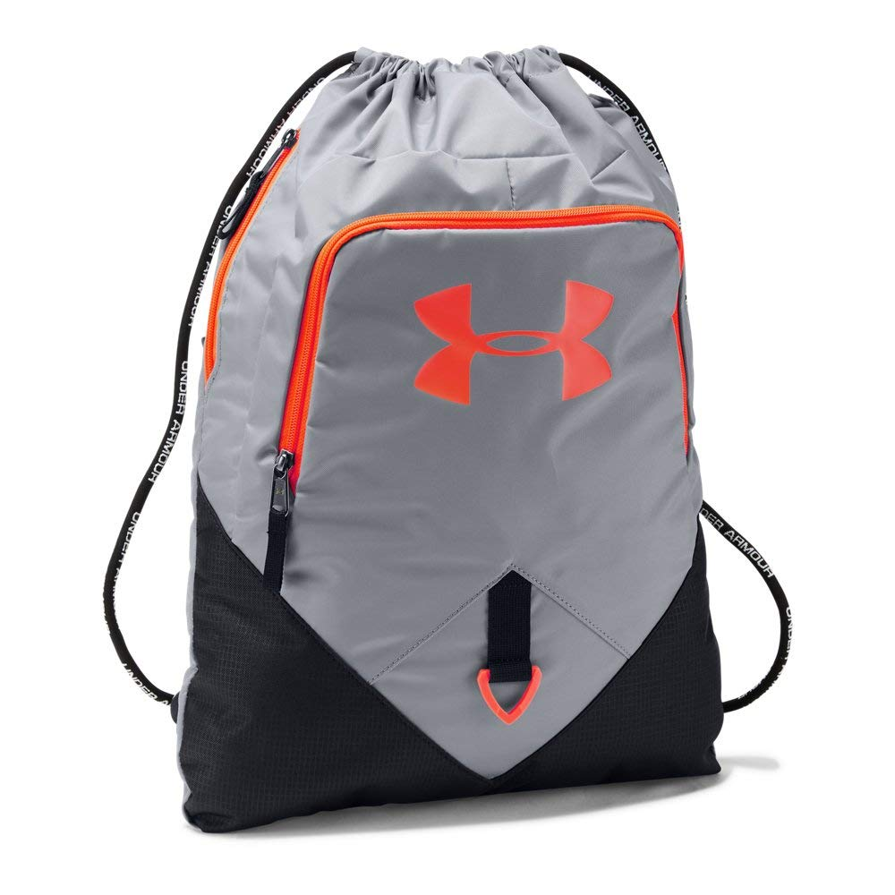 Under Armour Undeniable Sackpack, Steel (038)/Magma Orange, One Size